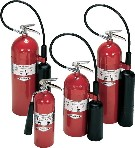 Amerex Carbon Dioxide (CO2) Fire Extinguishers